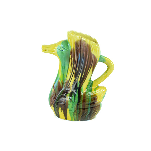 Majolica Duck Pitcher