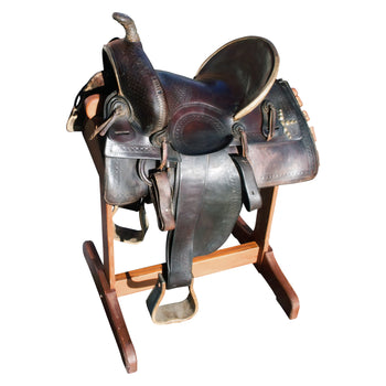 Cowboy and Western  saddles  Collins Morrison Saddle