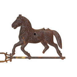 Trotting Horse Weather Vane
