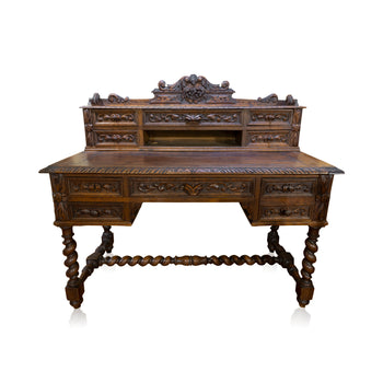 Lodge Furnishings  oak  English Oak Desk