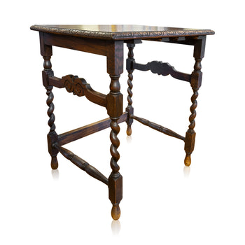 Lodge Furnishings  english, oak  English Oak Side Table