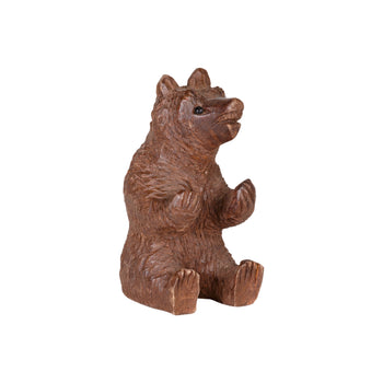 Special Collections  bears, black forest, brienz collection, miniatures, swiss carvings  Sitting Bear