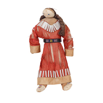 American Indian  beadwork, crow, dolls  Crow Female Doll