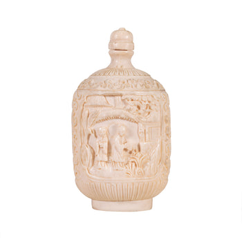 Special Collections  bottles, lodge furnishings other, ortiz collection, snuff  Ivory Snuff Bottle