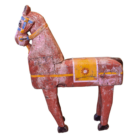 Carousel Horse folk art, horse, lodge furnishings other