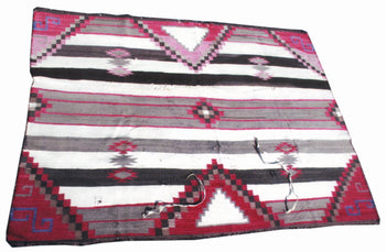 American Indian  4' to 6', blankets, navajo, weavings  Chief's Blanket