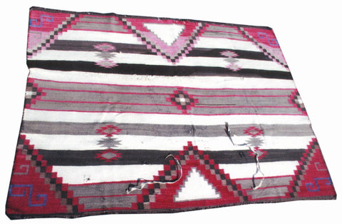 Chief's Blanket 4' to 6', blankets, navajo, weavings