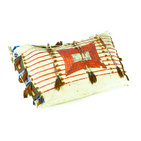 Elk Dreamer beadwork, elk dreamer, plains, possible bag, pouches, sioux, teepee bag