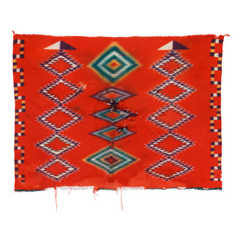 American Indian  1' to 4', child's blankets, germantowns, navajo, sale item, weavings  Navajo Child's Blanket
