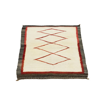 American Indian  1' to 4', ganados, navajo, weavings  Navajo Wall Hanger or Floor Rug