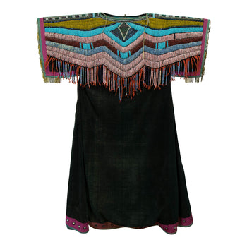 American Indian  beadwork, blackfeet, dresses, womens  Blackfeet Dress