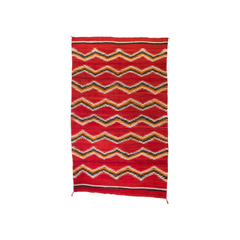 American Indian  6' to 8', blankets, navajo, transitionals, weavings  Navajo Transitional Blanket