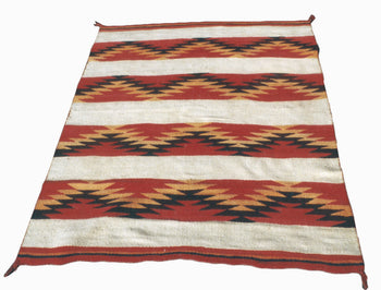 American Indian  4' to 6', blankets, navajo, weavings  Transitional