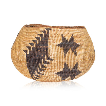 American Indian  baskets, wintu  Wintu Basket