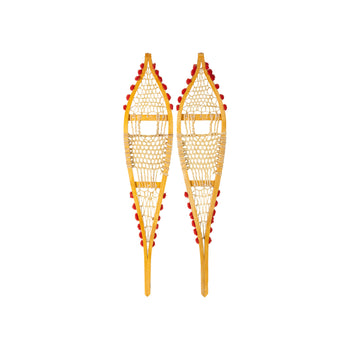 American Indian  new item, ojibwa, snowshoes, snowshoes-native  Ojibwa Display Snowshoes
