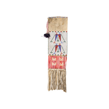 American Indian  bead work, new item, pipe bags, quill work, sioux  Sioux Pipe Bag