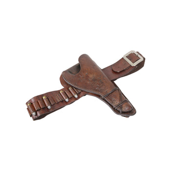 Cowboy and Western  antique gun leather, gun rig, holster, texas  Texas Gun Rig