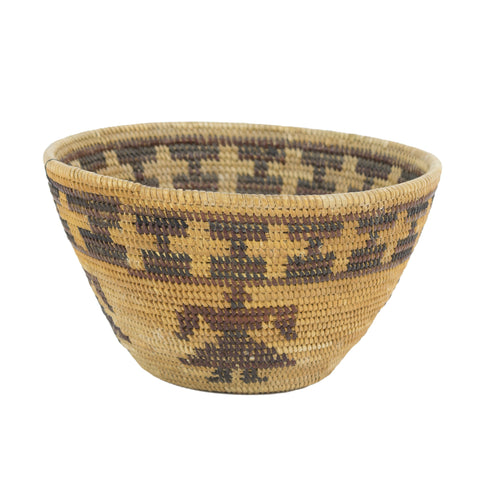 Yokut Figurative Basket baskets, california, yokut