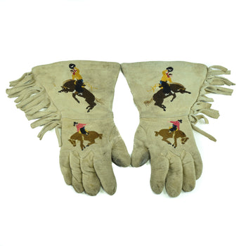 American Indian  cree, gauntlets, horses-native american, pictorials  Cree Gauntlets