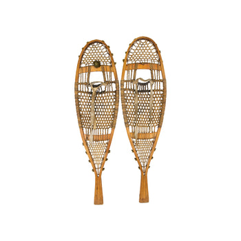 American Indian  cree, snowshoes-native  Northwestern Cree Snowshoes