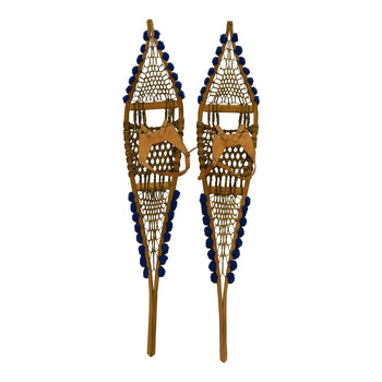 American Indian  snowshoes-native  Northeast Native American Snowshoes