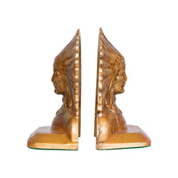 Indian Chief Bookends