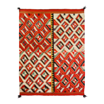 American Indian  4' to 6', germantowns, navajo, weavings  Germantown Four Panel