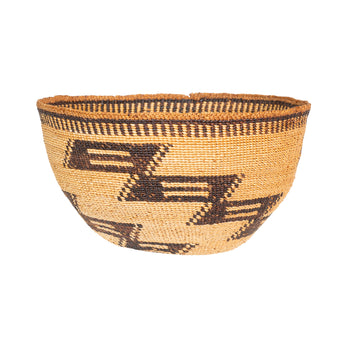 American Indian  baskets, hats, yurok  Yurok Hat Basket