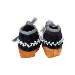 Iroquois Child's Moccasins
