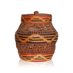 Tlingit Lidded Jar