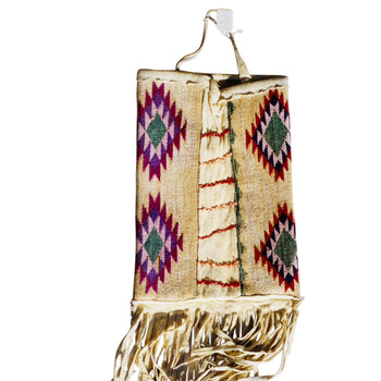 American Indian  corn husks, nez perce  Nez Perce Corn Husk Bag