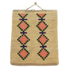 Nez Perce Corn Husk Bag with Whirling Logs  baskets, cornhusks, nez perce