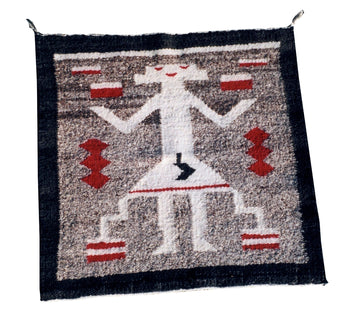 American Indian  1' to 4', navajo, pictorials, weavings, yeis  Single-Figure Yei