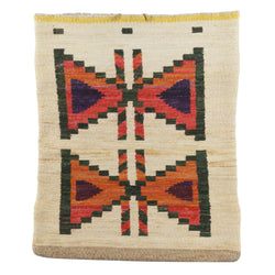 Nez Perce Cornhusk Bag with Butterfly Design