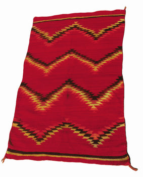 American Indian  4' to 6', blankets, child's transitionals, navajo, weavings  Child's Transitional Blanket