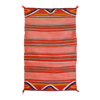 American Indian  4' to 6', blankets, child's, navajo, weavings  Late Classic Child's Blanket