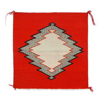 American Indian  1' to 4', germantowns, navajo, samplers, weavings  Germantown Sampler with Salt and Pepper