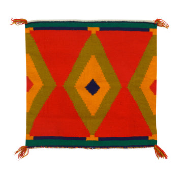 American Indian  1' to 4', germantowns, navajo, samplers, weavings  Germantown Sampler - Bright
