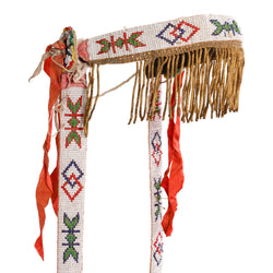 Nez Perce Beaded Headstall