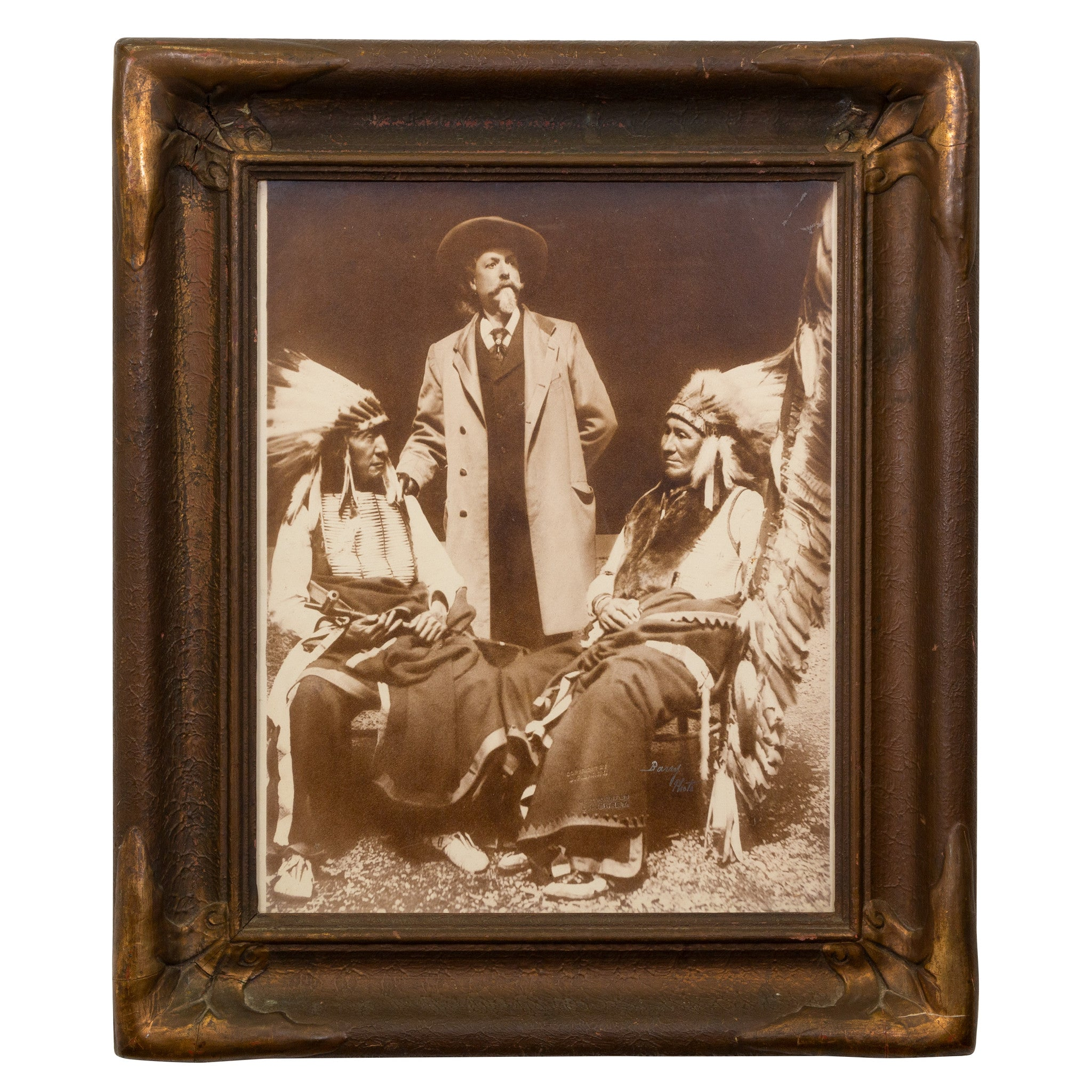 Original Buffalo Bill Cody Photo american horse, black and white, buffalo bill cody, d.f. barry, fine art: photography: other, photos, red cloud, sam's pick