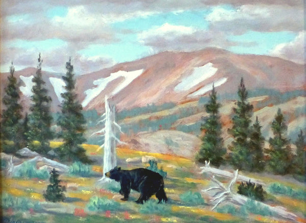 Bear Country II By Gayle B. Tate