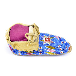Sioux Child's Moccasins