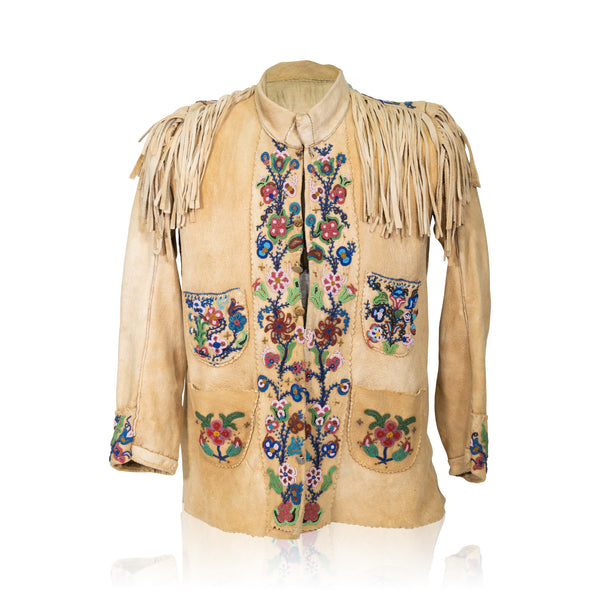 Cree Elk Hide Jacket