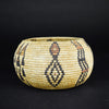 Miwok Polychrome Basket  baskets, california, miwok