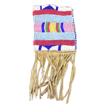 American Indian  plains, pouches  Crow Pouch