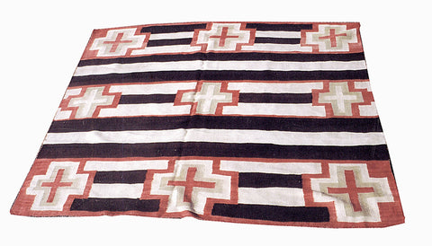 Transitional Chief's Blanket 4' to 6', blankets, chiefs, navajo, transitionals, weavings