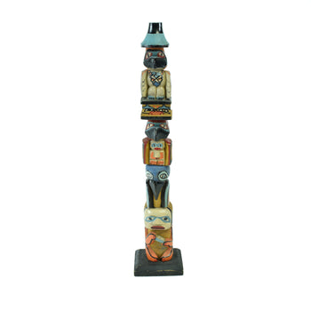 American Indian  1' to 3', bella coola, carvings, totems  Bella Coola Cedar Totem
