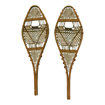 American Indian  ojibwa, snowshoes-native  Ojibwa snowshoes