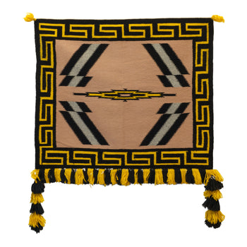 American Indian  1' to 4', germantowns, navajo, sunday saddles, weavings  Germantown Sunday Saddle Blanket
