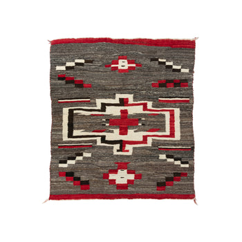 American Indian  4' to 6', blankets, crystals, transitionals, weavings  Crystal Transitional Blanket